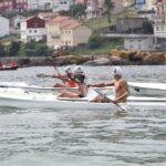 Un momento de la competición del Campeonato de España de Verano que se ha disputado en Dumbría. 14/07/18