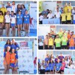 Campeonatos de España de Larga Distancia de Salvamento y Socorrismo Valladolid 2018 medallero