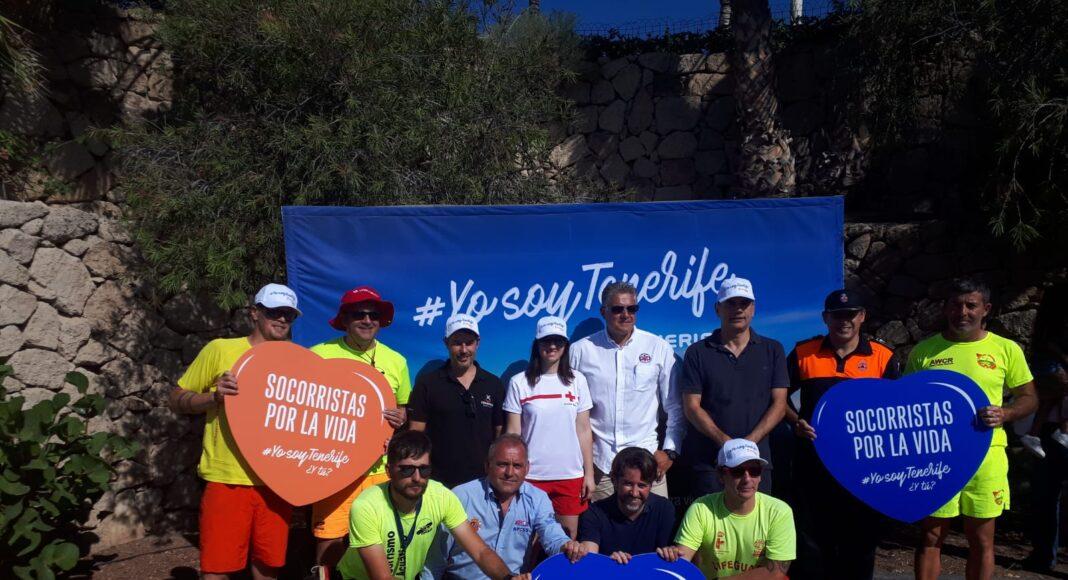 Grupo de trabajo que gestionó la adhesión a #YosoyTenerife