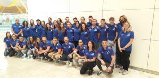 Delegación española que acudió a los Mundiales de Australia