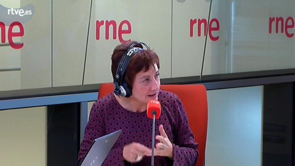 Ana José Cancio en el programa de RNE