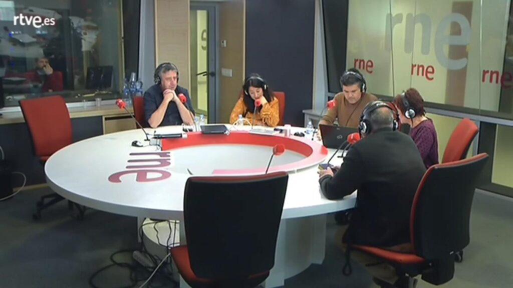Hablando de salvamento y socorrismo en Radio NacionalHablando de salvamento y socorrismo en Radio Nacional