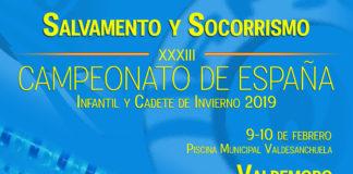 Campeonato de España Infantil y Cadete de Invierno 2019