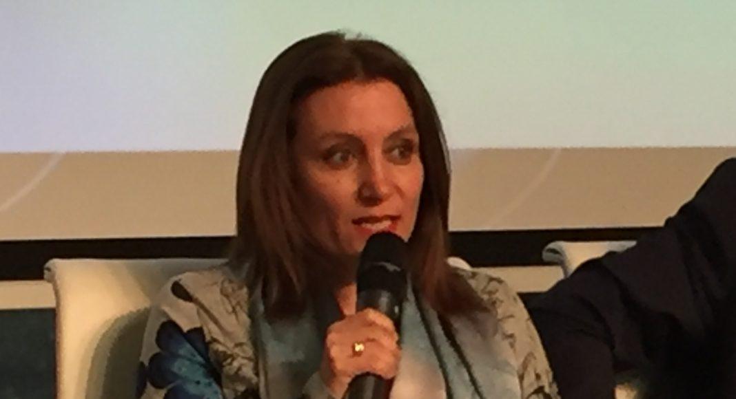 La presidenta de la Real Federación Española de Salvamento y Socorrismo, Isabel Garcóa Sanz, paritcipa en las Jornadas Nacionales de Protocolo de la Asociación Española de Protocolo (AEP). Madrid, 21-03-19