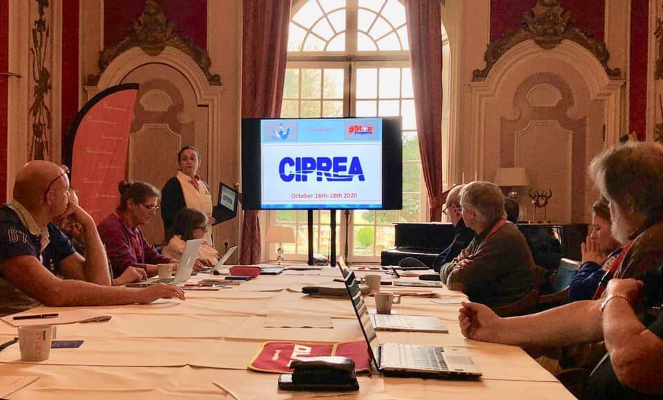 Momento en el que se anuncian las fechas de celebración del #CIPREA2020.