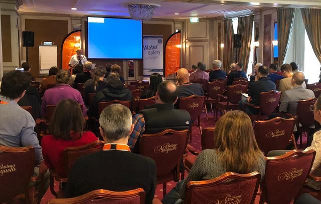 Primera sesión plenaria de la Federación Europea de Salvamento en Heemskerk (Países Bajos).