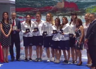 Entrega de distinciones del Comité Olímpico Español (COE).