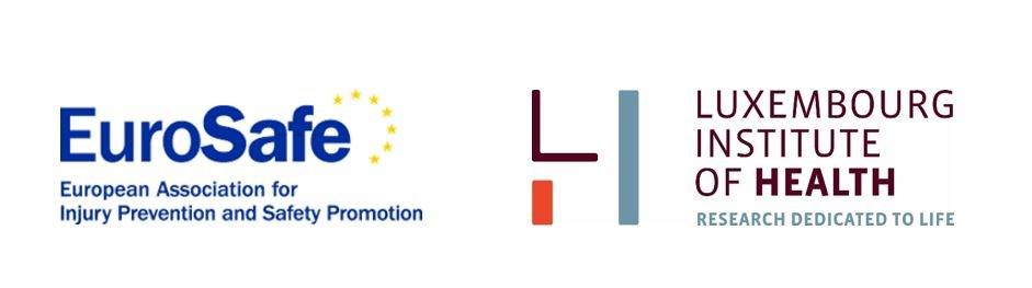 Logotipos de las instituciones organizadoras de EU-Safety 2019 de Luxemburgo.