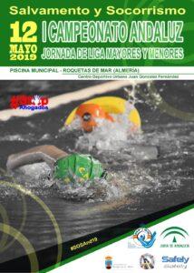 Campeonato Andaluz de Salvamento y Socorrismo, Roquetas de Mar (almería), 12 de mayo de 2019