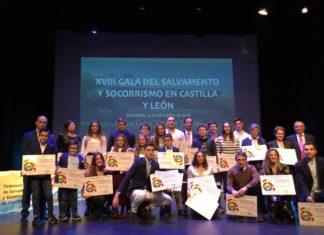 XVIII Gala de Salvamento y de Castilla y León, Valladolid, 14 de diciembre de 2018