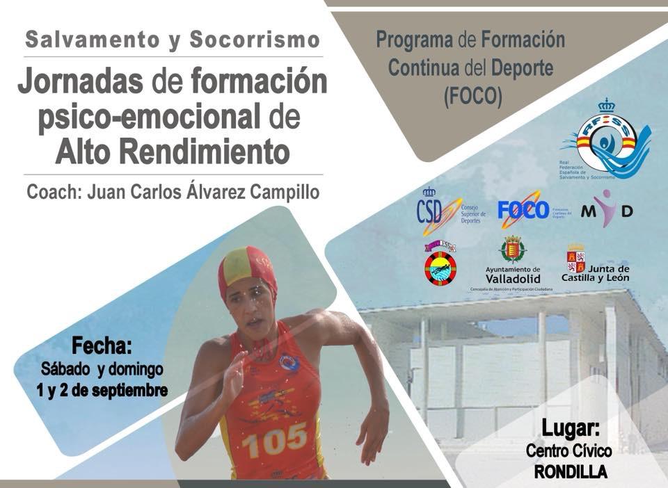 42a95ac0c14 Jornada de gestión psico-emocional de alto rendimiento para deportistas,  Valladolid, 1 y
