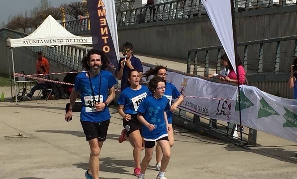 Carrera #StopAhogados, León, 21 de abril de 2018