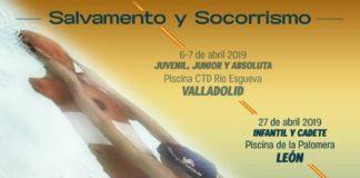 Cartel de la segunda jornada de la III Copa de España de Salvamento y Socorrismo.