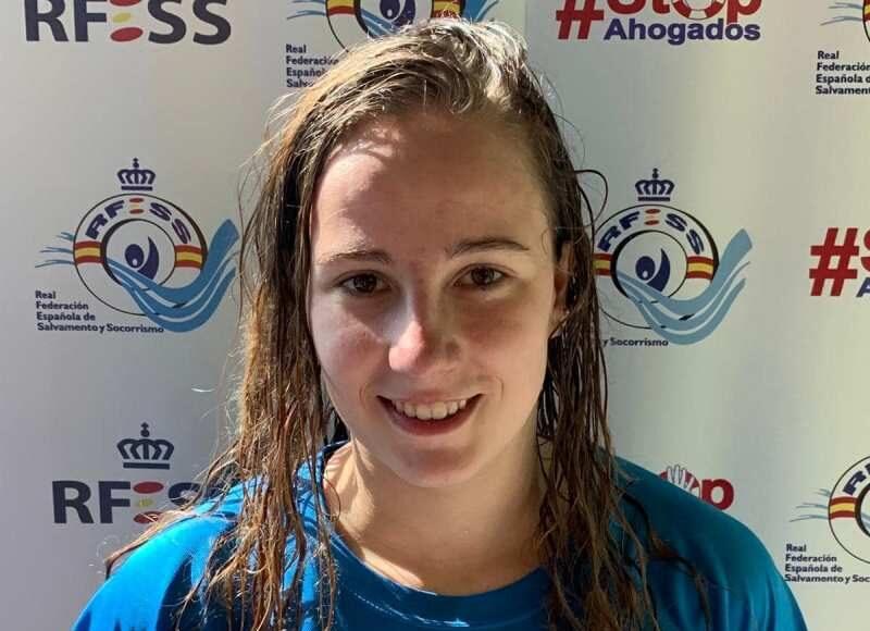 Miriam Martínez Manzano (Club Alcarreño de Salvamento y Socorrismo) es la nueva titular del récorda de España de 200 metros natación con obstáculos junior femenina, con un tiempo de 02.12.00., frente al anterior de 02.14.44.