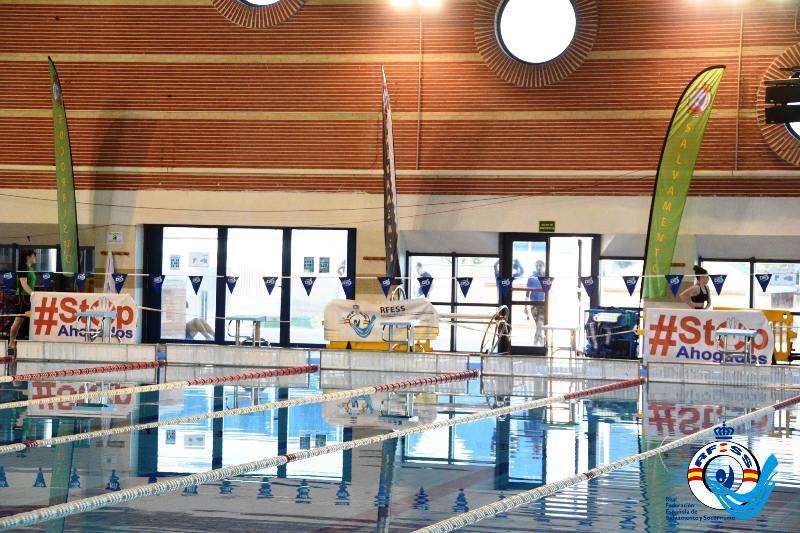 Una imagen de la piscina. #SOSEuropeCUP19