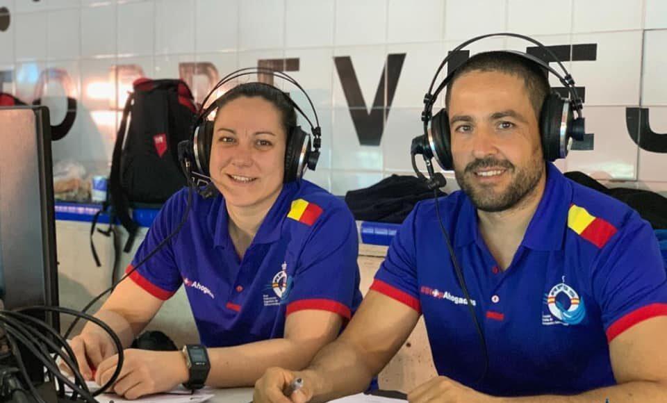 Ana Guimarey y Antonio Triviño se encargaron de la retransmisión del Abierto Internacional-Campeonato de España de Primavera a través de LaLigaSports.