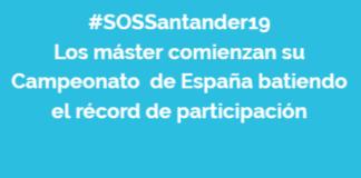 Campeonato de España de Salvamento y Socorrismo Máster. Cantabria, 1 y 2 de juno de 2019 #SOSSantander19