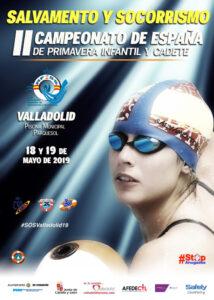 Campeonato de España de Primavera de Salvamento y Socorrismo #SOSValladolid19, Valladolid, 1 y 2 de junio de 2019