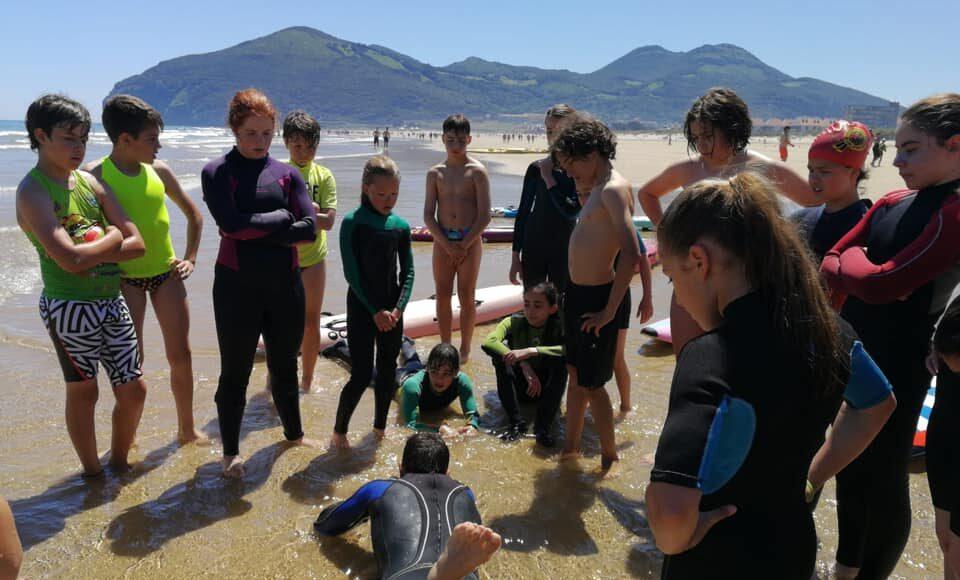 Concentración de tecnificación infantil y cadete, en Berria, del 31 de mayo al 2 de junio de 2019