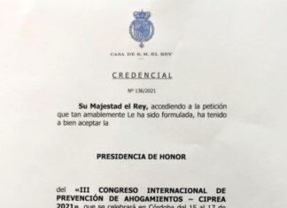 Felipe VI preside el Comité de Honor del CIPREA